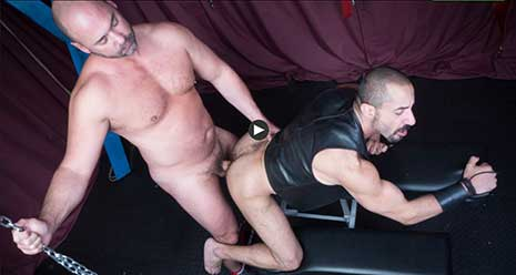 Beefy Tyler Reed is a big man. Tall, with broad shoulders, he towers above most men and he likes it that way. It makes it easier for him to manhandle the dirty, nasty men he meets who love cock...