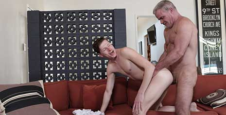 When Lukas Stone pays a visit to his stepuncle Dale Savage, he assures him that he loves spending time with him. Lukas mentions that he saw Dale being intimate with his stepaunt once and...
