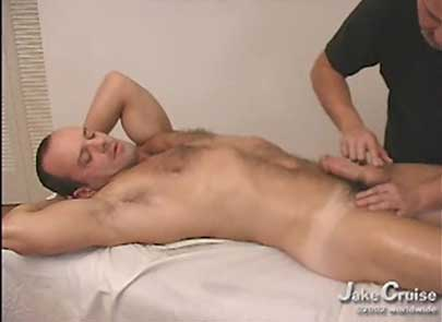 A massage table, erotic oils and a Brazilian porn star make for one hell of a hot massage. So hot I dropped my shorts so Carlo could play with my cock.