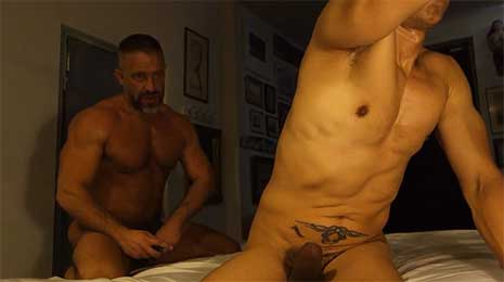 Rafael Alencar with another muscle stud, but ends up being the bottom bitch! I like to go somewhere warm when winter arrives. I hate cold weather.