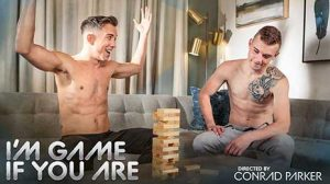 Isaac Parker is bored and he wants his roommate Scott Finn to keep him busy. Scott reluctantly agrees but his interest increases when Isaac starts stripping. Game on!