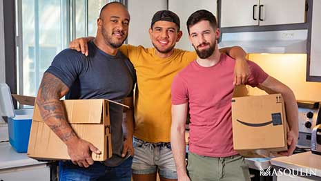 """In Quebec Canada, there's such a thing called """"Moving Day"""" which falls on July 1st. Roommates Alex and Thyle Knoxx are finishing up packing when Jason Vario arrives to help."""