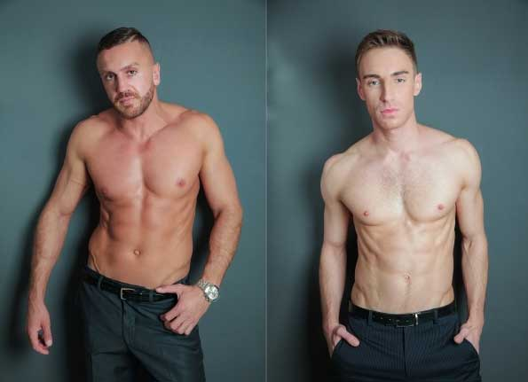 """Emir Boscatto and Kayden Gray perform in one of MAP's top favorited suited movies in this Bonus Editor's Cut release of """"Analyze This""""."""